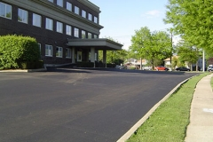 Unstriped Paved Parking Lot