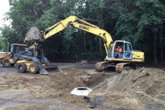 Drainage and septic system repair