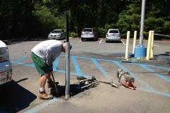 Repair Sign and Post