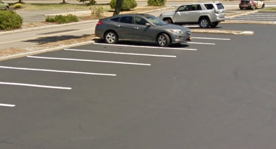 We finished this new parking lot paving in Brookhaven on time - Dumor Construction Inc.