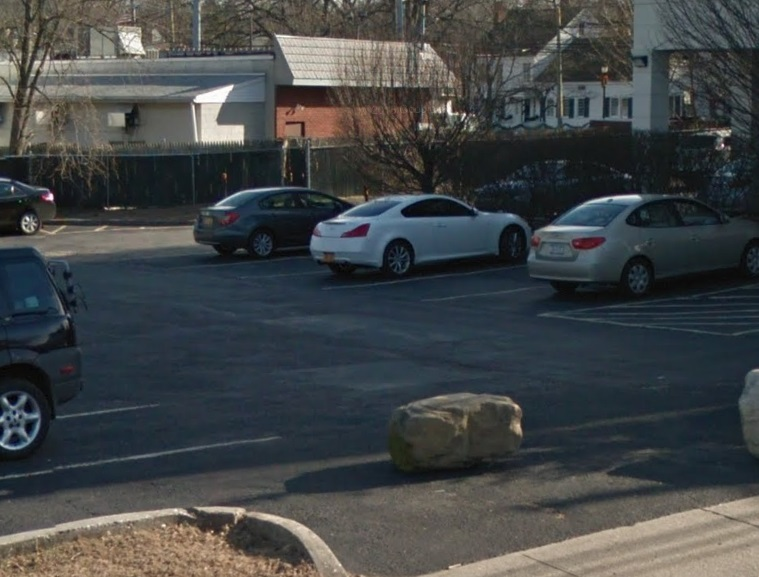 We did some great parking lot paving in Huntington